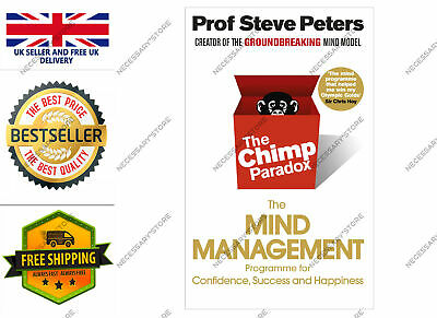 The Chimp Paradox: The Mind Management Programme To Help You Achieve Success UK • 12.99£
