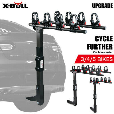 AU89 • Buy X-BULL Car Bike Rack Carrier 3/4/5 Rear Bicycle Foldable Hitch Mount Heavy Duty