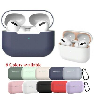 $ CDN5.10 • Buy Silicone Cover Case For Apple Airpods Pro 3 Bluetooth Earphone Protective Cover