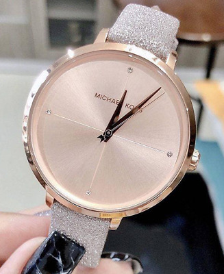$ CDN99.59 • Buy Michael Kors Women's Charley Hand Rose Gold Leather Watch MK2794 SHIPS TODAY