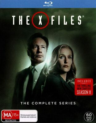 AU151.56 • Buy The X Files - COMPLETE SERIES - BRAND NEW - BLU RAY