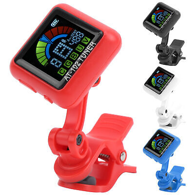 $ CDN15.55 • Buy Aroma AT‑102 Guitar Clip‑on Tuner USB Rechargeable DC5V For Violin Ukulele Bass