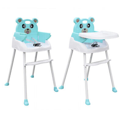 £16.82 • Buy 4 In1 Baby Kids Toddler Infant High Chair Feeding Seat Chair Adjustable Hight
