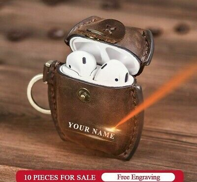 $ CDN19.70 • Buy Luxury Genuine Cover For Headphone Apple Airpods 2 Leather Case Accessories Bags