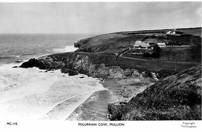 £8.25 • Buy Polurrian Cove, Mullion - Real Photo - Unposted 1950s - F Frith
