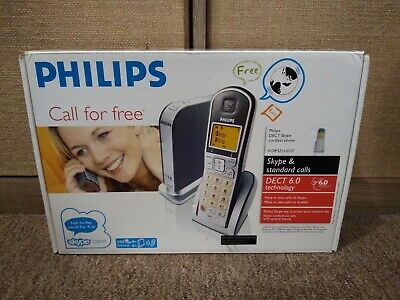 £21.81 • Buy Philips DECT Skype Cordless Telephone.Model VOIP 3211.NEVER USED!