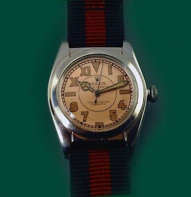 $ CDN5049.14 • Buy Vintage 1946 Rolex Bubble Back Oyster Perpetual Chronometer Watch Ref.2940