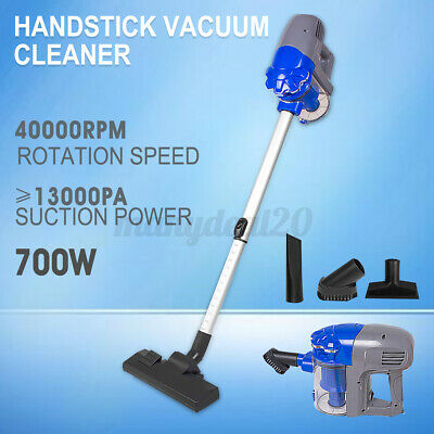 AU51.99 • Buy 3in1 700W Handheld Vacuum Cleaner Corded Stick Handstick Bagless Recharge Vac