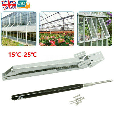 Auto Greenhouse Window Vent Roof Opener Thermostatic Ventilation Control Hold7kg • 18.98£