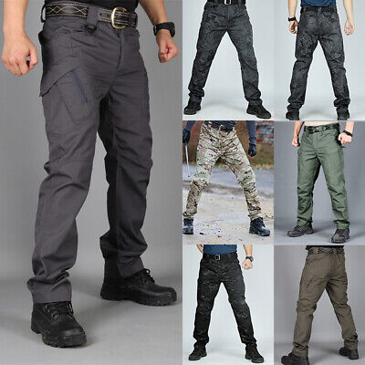 Mens Hiking Breathable Tactical Trousers  Outdoor Fishing Walking Regatta Pants
