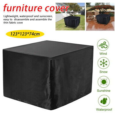 AU19.99 • Buy Waterproof Outdoor Furniture Cover Yard UV Garden Table Chair Shelter Protector