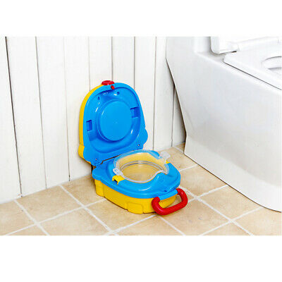 Baby Toddler Kids Training Potty Children Toilet Portable Training Seat Portable • 7.59£
