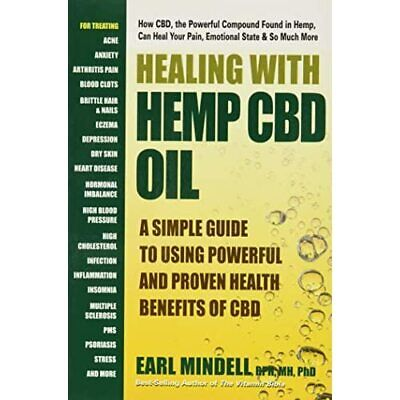 Healing With Hemp CBD Oil:­ A Simple Guide To Using Pow - Paperback NEW Mindell, • 12.78£