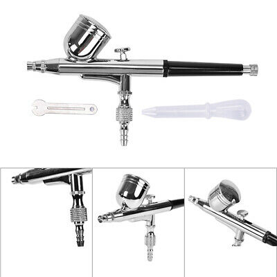 £13.99 • Buy Professional Gravity Feed Dual-Action Airbrush Kit Set 0.3mm Nozzle Spraying