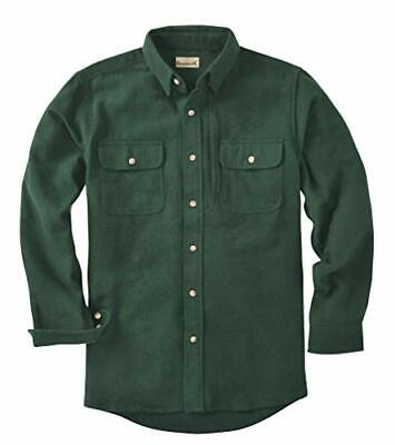 $44.95 • Buy Backpacker Solid CHAMOIS Shirt AUTHENTIC 7090 7.5 Oz Cotton PINE Mens XL NEW