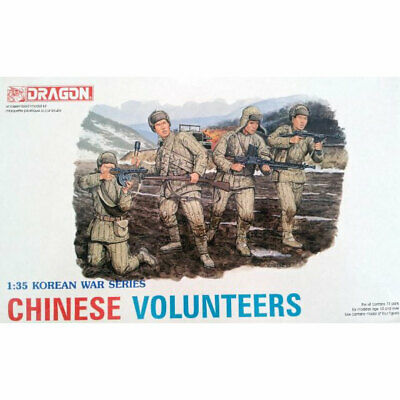 Dragon 6806 Chinese Volunteers (Korean War) 1:35 Plastic Model Figures • 11.69£