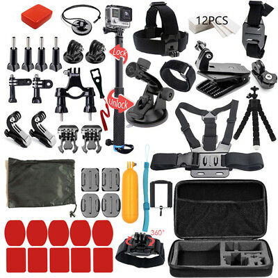 $ CDN8.87 • Buy For GoPro Hero Action Camera Outdoor Sports Accessories Kit GoPro Hero 7/6/5/4/3
