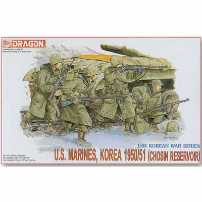 Dragon 6802 U.S. Marines Chosin Reservoir 1950/51 1:35 Plastic Model Figures • 11.69£