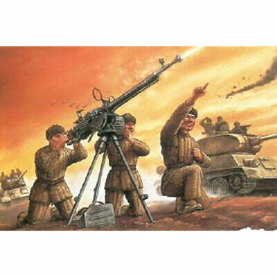 Dragon 6809 Chinese Volunteer DShK AA Team 1:35 Plastic Model Figures • 11.69£