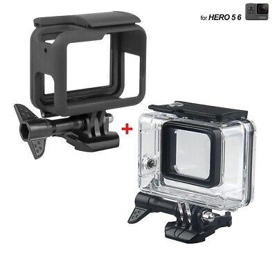 $ CDN10.78 • Buy For GoPro Go Pro Hero 6 5 4 3 Diving Surfing Waterproof Protective Housing Case