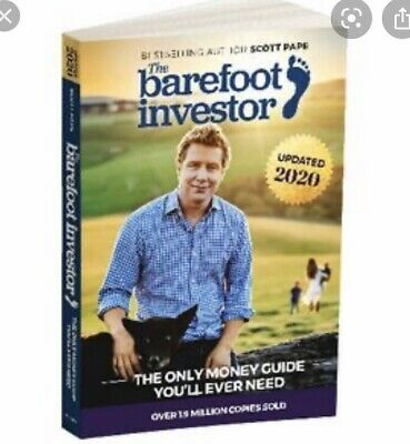 AU39.99 • Buy The Barefoot Investor: The Only Money Guide You'll Ever Need By Scott Pape...