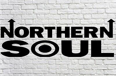 Northern Soul Mod Car Scooter Soul Sticker Vinyl Decal Laptop Motown • 1.99£