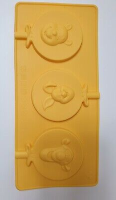 Disney Winnie The Pooh Tigger Piglet Silicone Lollipop Mould/Mold Chocolate Cake • 3.25£