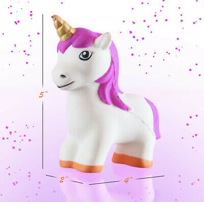 AU11.57 • Buy Cute Unicorn Slow Rising Squeeze Stress Reliever Toy Gift