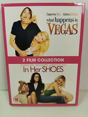 £1.96 • Buy WHAT HAPPENS IN VAGAS & IN HER SHOES  2 FILM COLLECTION DVD Very Good B3
