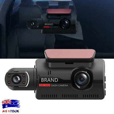 AU49.99 • Buy Dash Cam Recorder Dual Lens Camera HD 1080P Car DVR Vehicle Video G-Sensor