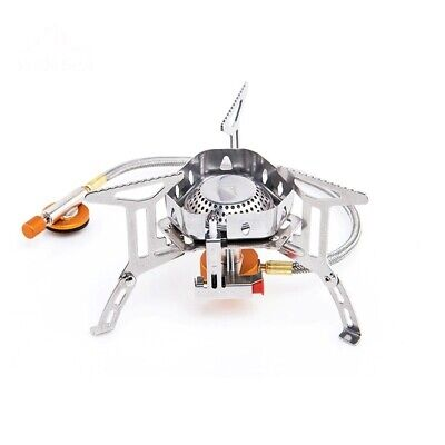 £17.34 • Buy Windproof Outdoor Gas Burner Camping Stove Lighter Tourist Equipment Kitchen