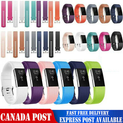 $ CDN6.99 • Buy For Fitbit Band Strap Charge 2 Replacement Watch Bracelet Wrist Silicone Charge2