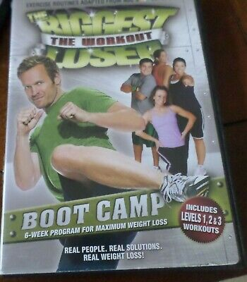 The Biggest Loser: Boot Camp Bob Harper DVD Used Workout Fitness Exercise Cardio • 4.22£