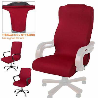 AU20.97 • Buy High Back Protective Stretch Modern Simplism Computer Seat Office Chair Cover
