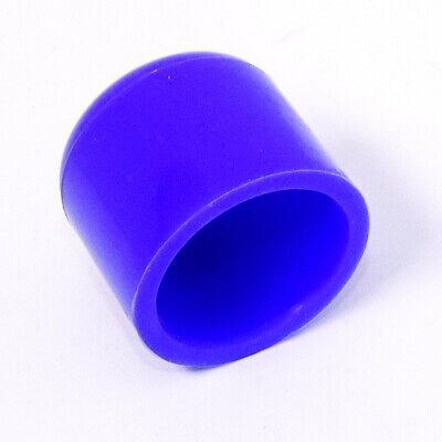 Blue Silicone Hose End Blanking Caps Plugs Pipe Finisher Bung Rubber • 0.99£