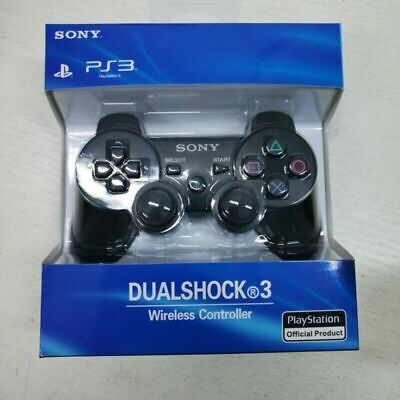 PS3 Wireless DualShock 3 Controller Joystick GamePad For PlayStation3 Black 1x • 14.99£