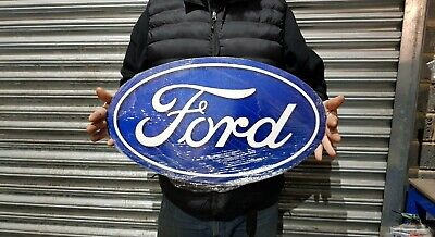 £40 • Buy  Large 24  X 14  Ford Oval  Metal Sign Man Cave/ Garage/ Shed