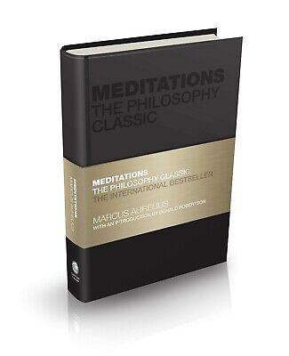 AU23.49 • Buy Meditations: The Philosophy Classic By Marcus Aurelius (English) Hardcover Book