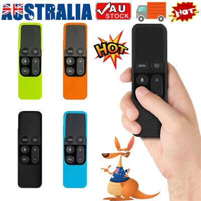 AU8.64 • Buy Remote Controller Case Silicone Protective Cover Skin For Apple TV 4th Gen EA