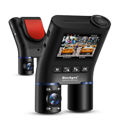 AU147.99 • Buy Blueskysea B2W Dual Lens Dash Cam For Uber | Lyft | Taxi,Night Vision Car Camera