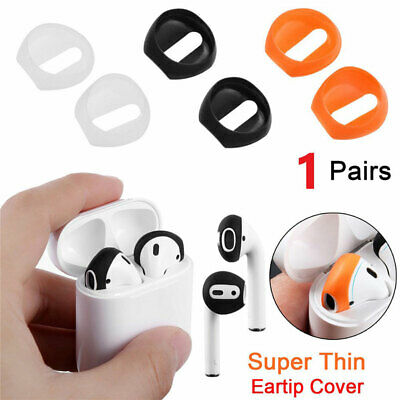 AU10.05 • Buy 1 Pair For AirPods Earpods Soft Ultra Thin Earphone Tips Anti Slip Silicone W8E