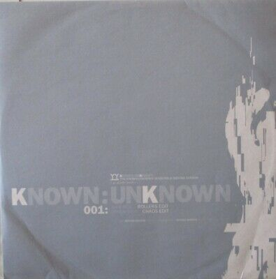 KNOWN UNKNOWN - Sessions @ Moving Shadow ~ 12  Single PS • 10.99£