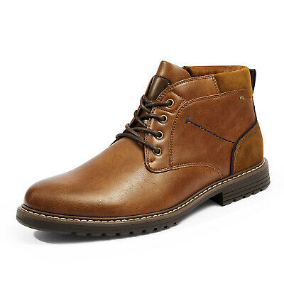$29.12 • Buy Men's Leather Chukka Casual Boot Dress Boots Durable Stylish Shoes For Men