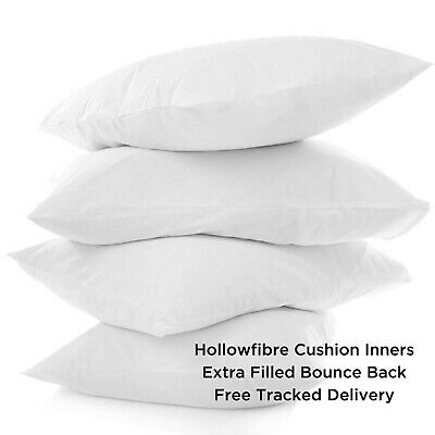 £3.25 • Buy Extra Filled Hollow Fibre Plump Cushion Inners Fillers Inserts Pads All Sizes