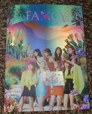 Twice Fancy Album Like New With Photocards, Lenticular And Preorder Benefits • 20£