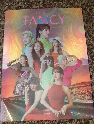 Twice Fancy Album Like New With Photocard And Lenticular  • 20£