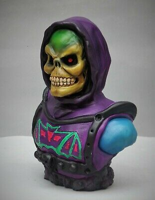 $79 • Buy Skeletor Battle Armor Bust . Masters Of The Universe Classic Style Fan Art
