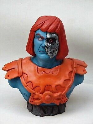 $79 • Buy Faker Bust . Masters Of The Universe Classic Style Fan Art , Handmade! Unique!