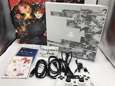 AU2099.04 • Buy PS4 Pro   Persona 5 The Royal   Limited Edition Sony Glacier White Japan Used
