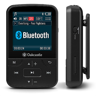 Oakcastle MP100 8GB Bluetooth MP3 Player / Portable Music Player For Phyiscal... • 25.50£